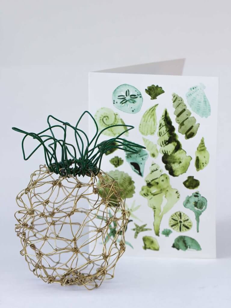 drive-swim-fly-california-pineapple-collection-wire-pineapple-green-shells-stationary