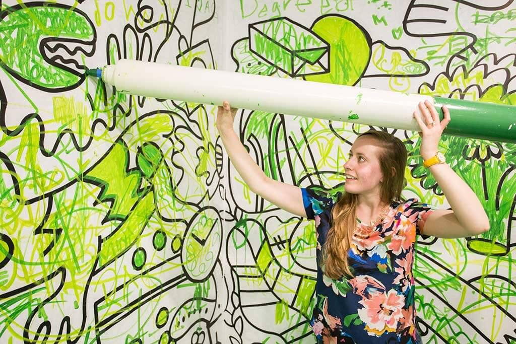 drive-swim-fly-color-factory-san-francisco-union-square-green-room-giant-marker-drawings