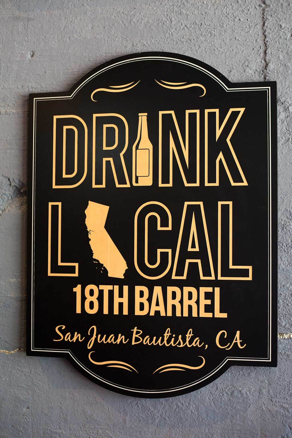 drive-swim-fly-18th-barrel-wine-and-beer-tasting-room-san-juan-bautista-california-alcohol-drink-local-sign