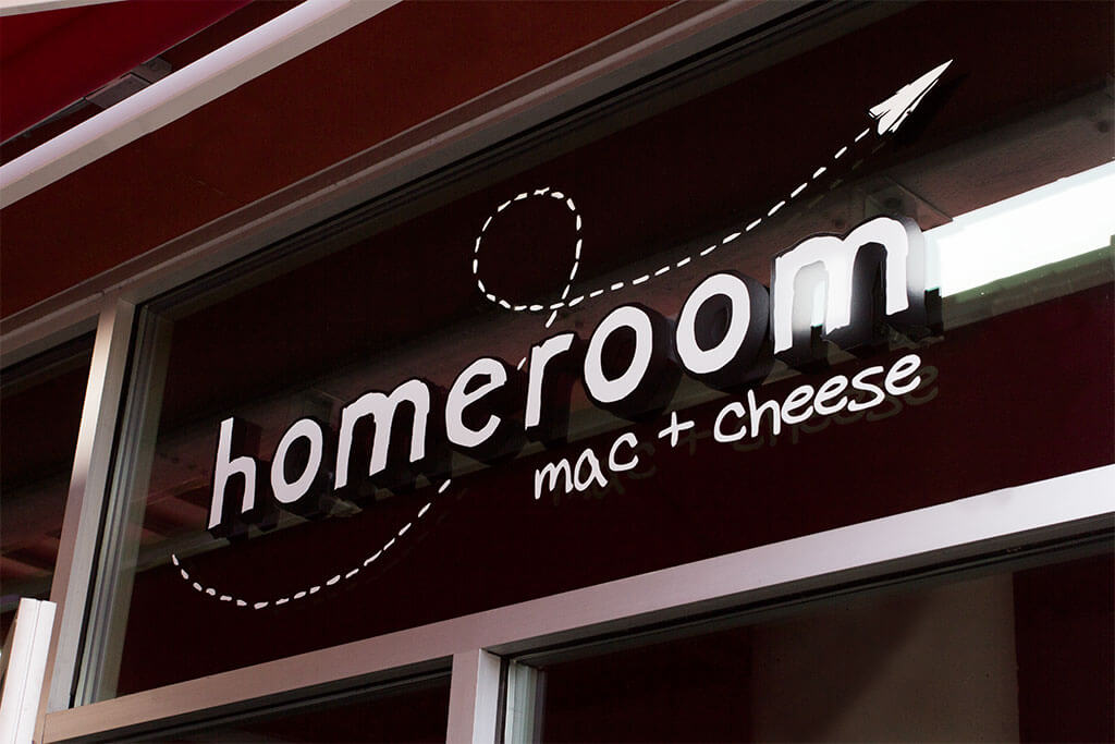 drive-swim-fly-hayward-california-homeroom-macaroni-and-cheese-sign