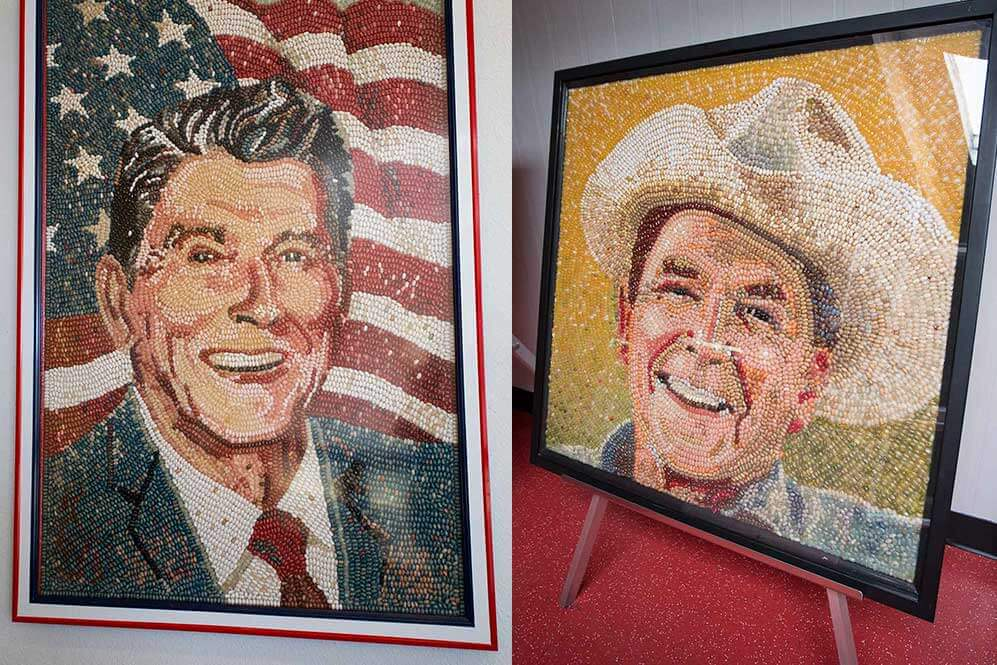 drive-swim-fly-jelly-belly-factory-tour-fairfield-california-ronald-reagan-jellybean-portraits