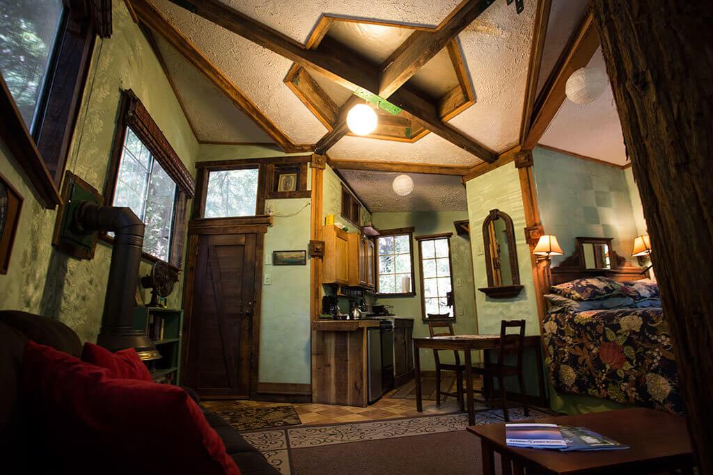drive-swim-fly-santa-cruz-mountains-treehouse-hotel-daytime-ceiling-view-closet