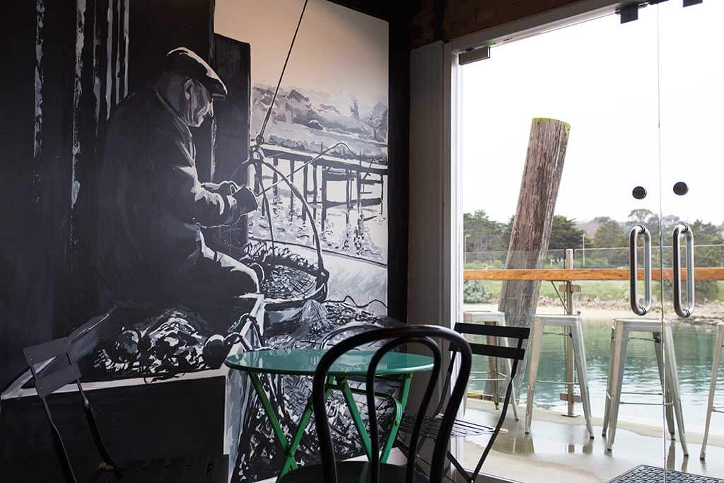drive-swim-fly-monterey-california-water-and-leaves-fisherman-mural