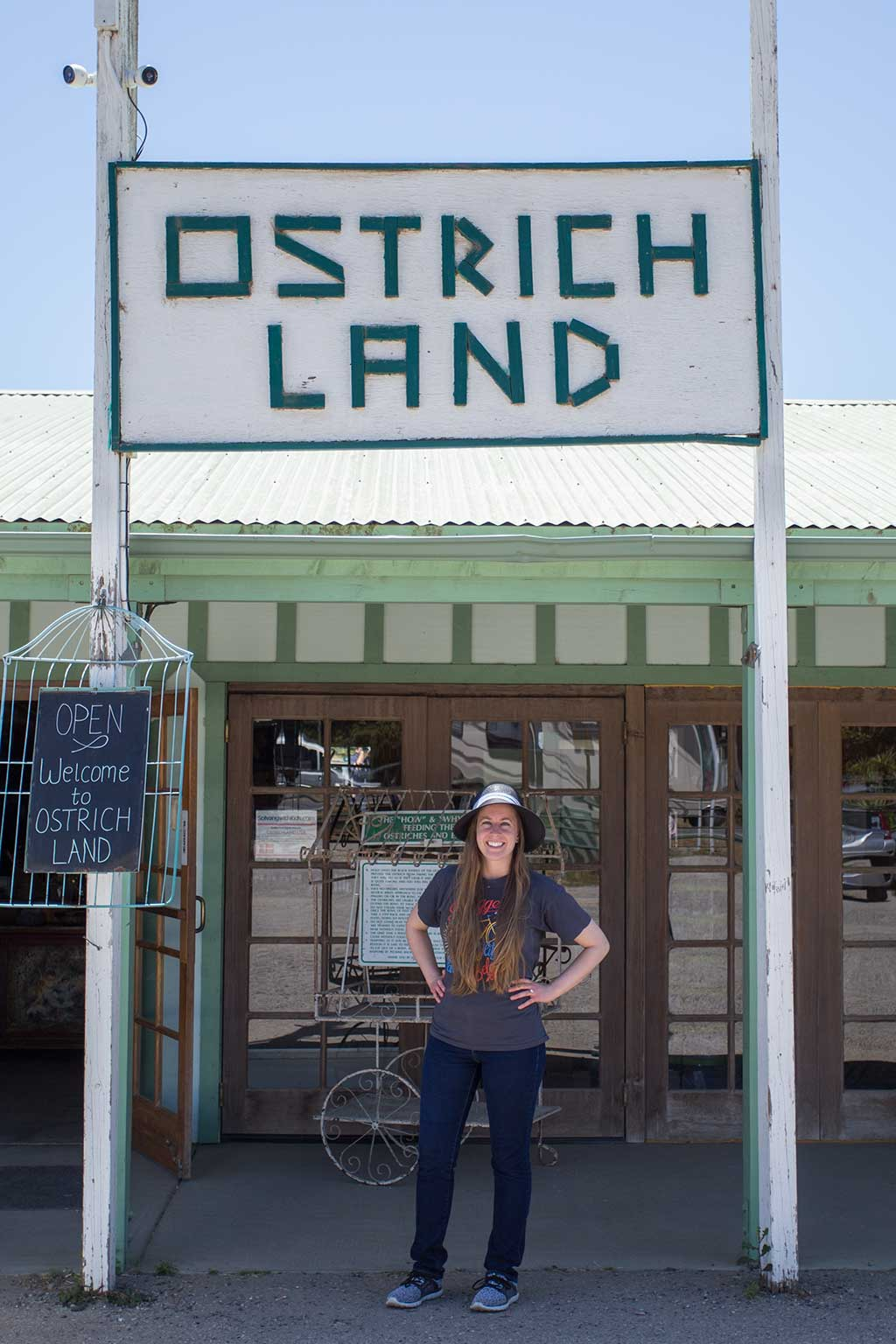 drive-swim-fly-solvang-california-ostrich-land-welcome-sign