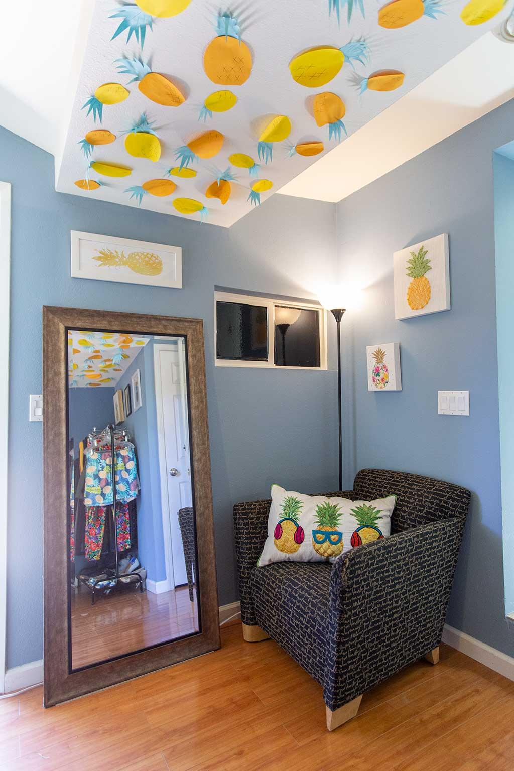 drive-swim-fly-san-juan-bautista-california-willis-cottage-bedroom-mirror-arm-chair