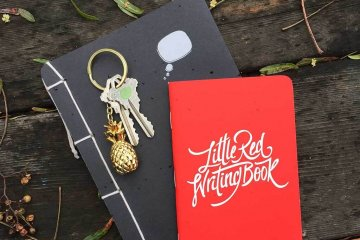 drive-swim-fly-pineapple-collection-keychain-notebooks