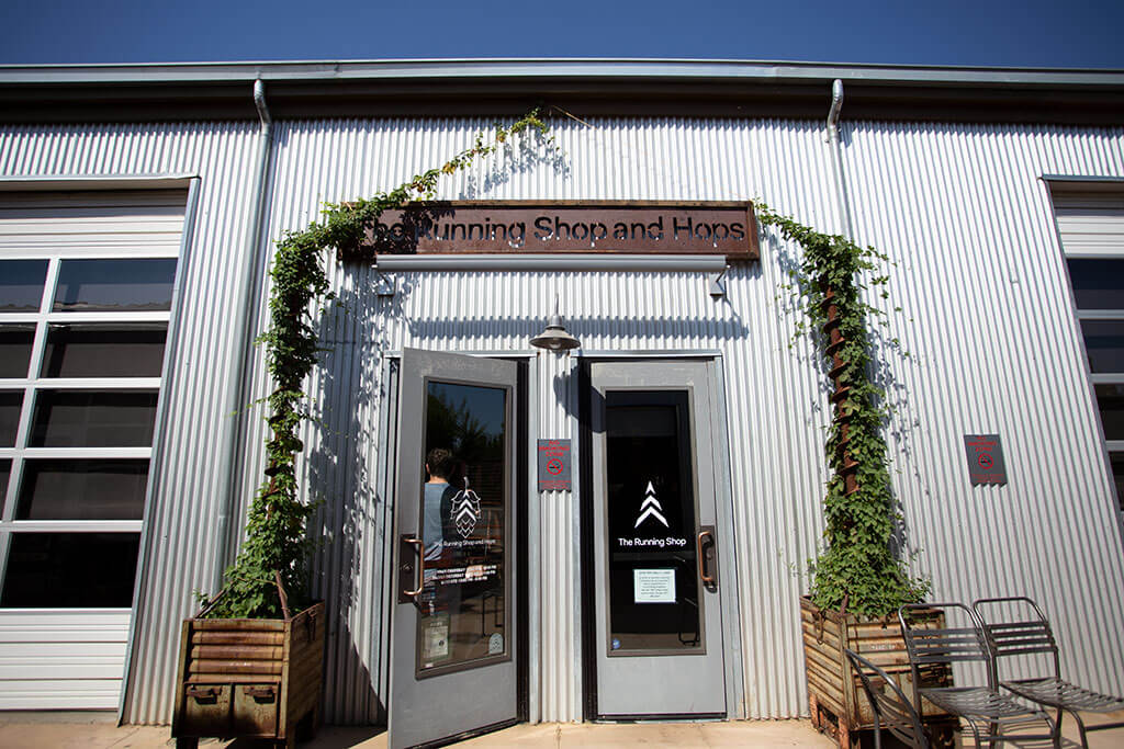 drive-swim-fly-running-shop-and-hops-morgan-hill-california-front-entrance