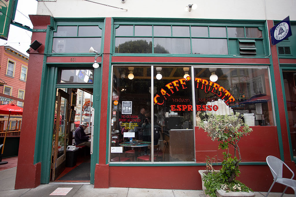 drive-swim-fly-san-francisco-avital-food-tour-north-beach-little-italy-cafe-triste-outside-espresso
