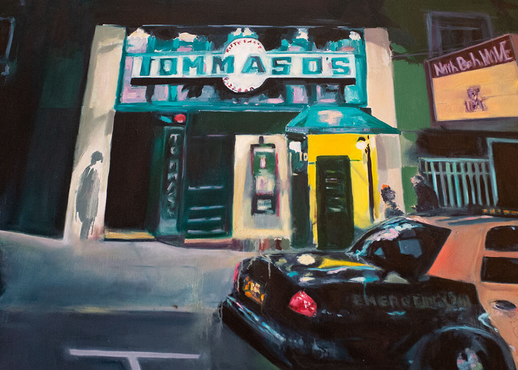 drive-swim-fly-san-francisco-avital-food-tour-north-beach-little-italy-tommasos-pizza-pizzaria-painting